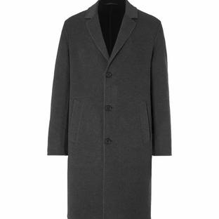 Mr P- Double-Faced Splitable Virgin Wool-Blend Coat