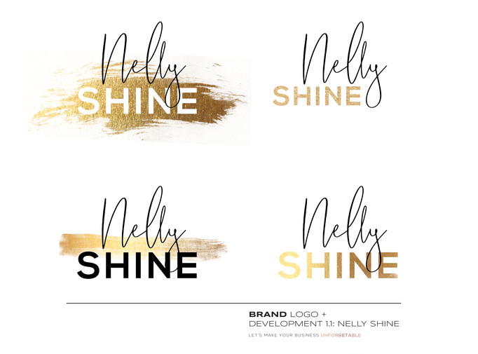 Nelly Shine_Brand Development_Designed Latoya Antonia