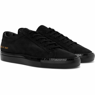Common Projects - Achilles Lux Nubuck Sneakers