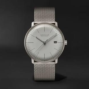 Junghans- Max Bill MEGA Solar 38mm Titanium Watch, Ref. No. 059/2022.48