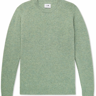 NNO7-Nathan Mélange Wool Sweater