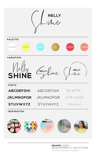 Nelly Shine_Brand Development_Designed by Latoya Antonia