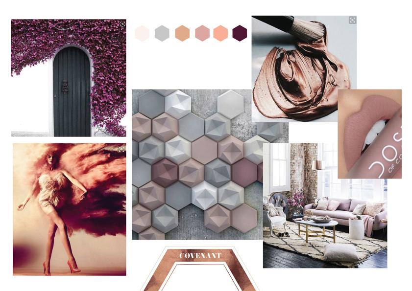 Covenant Candles Brand Developments_Mood&Colour_Designed by Latoya Antonia