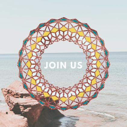 Kaleidoscope Retreats Social Media Posts_Designed by Latoya Antonia