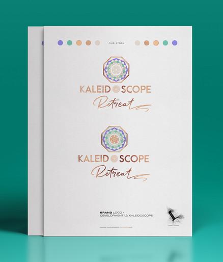 Kaleidoscope Retreats Brand Logo Development_Designed by Latoya Antonia