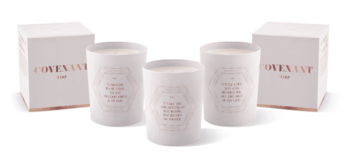 Covenant Candles_I Do Range_Designed by Latoya Antonia