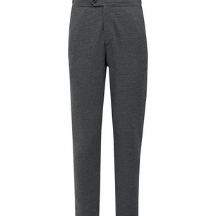 Hamilton and Hare- Slim-Fit Waffle-Knit Cotton Suit Trousers