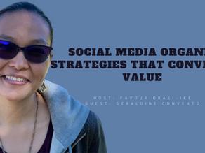 Social Media Organic Strategies that Converts Value 📌 📈