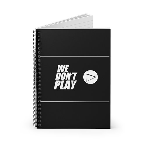 Spiral PLAY Notebook - Ruled Line
