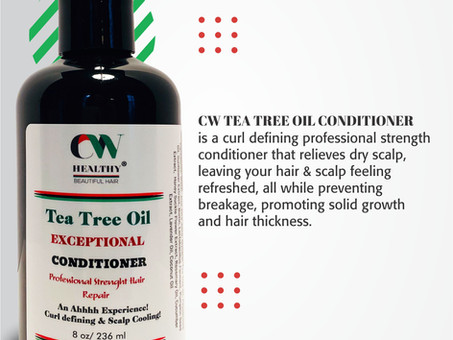 5 Practical Hair Growth Benefits: CW Tea Tree Oil Conditioner
