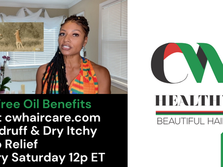 Itchy Scalp Treatments for Dandruff: Watch on CW Haircare's YouTube Channel