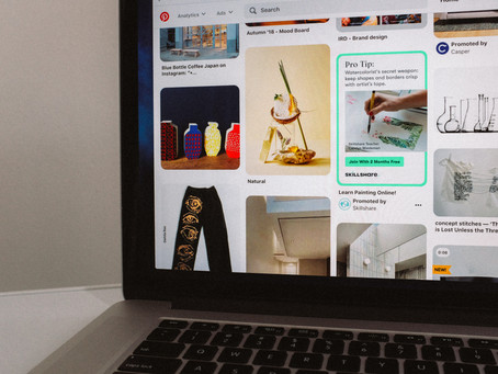 Design Social Media Images Tool on the Pinterest App Network for Visual Search using Pin Designs