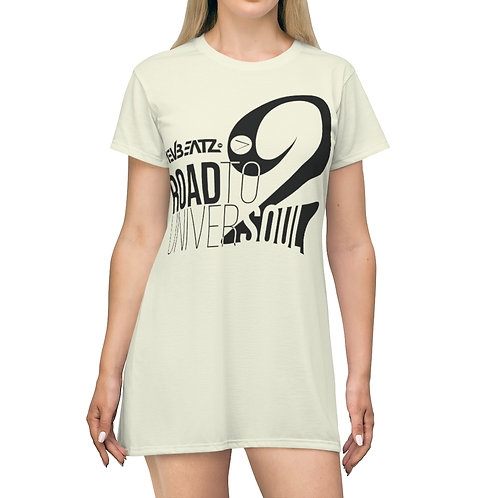 Road to Universoul 2 Beige T-Shirt Dress