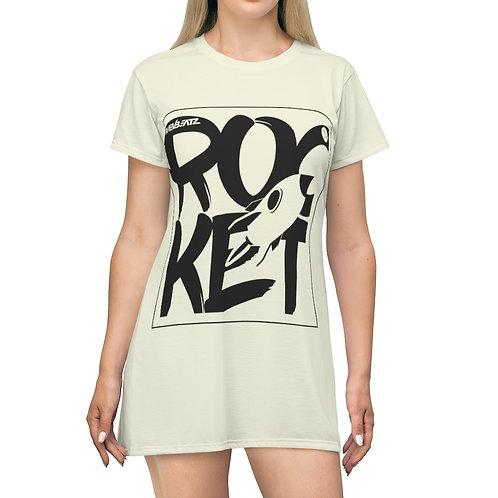 Rocket Beige T-Shirt Dress
