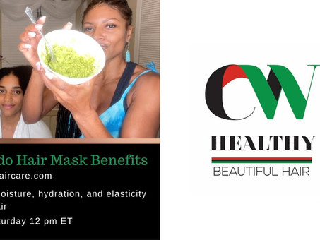Let's Try This Avocado, Honey & Olive Oil Mask Out! Watch on CW Haircare's YouTube Channel