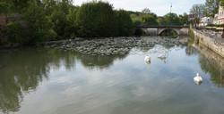 Emet Village river