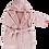 Thumbnail: Badjas Roze Grijs   62/68   Bam Bam