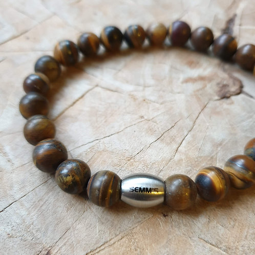 Armband | Natuursteen |  Semms