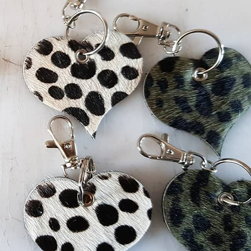 Sleutelhanger Hart | Sillies Leather