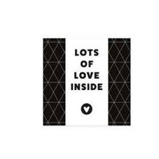Chocoladewens |  Lots of love | Livntaste | van d'Oldestempel