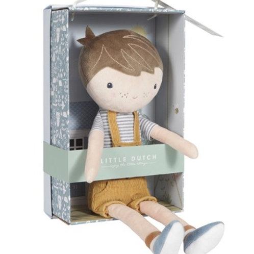 Pop | Knuffelpop Jim  10 cm | Little Dutch
