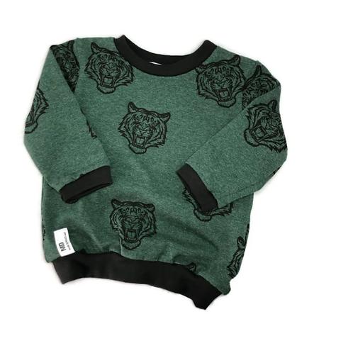 Sweater   Tijger   Groen   MissDraad