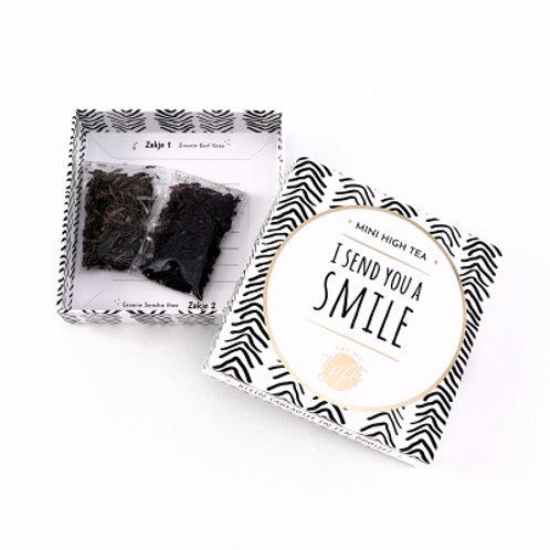 Mini high tea   I send you a smile   big gifts   van d'olde stempel