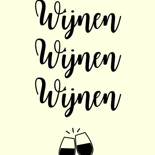 Kaart | Wijnen wijnen wijnen | MadePaper