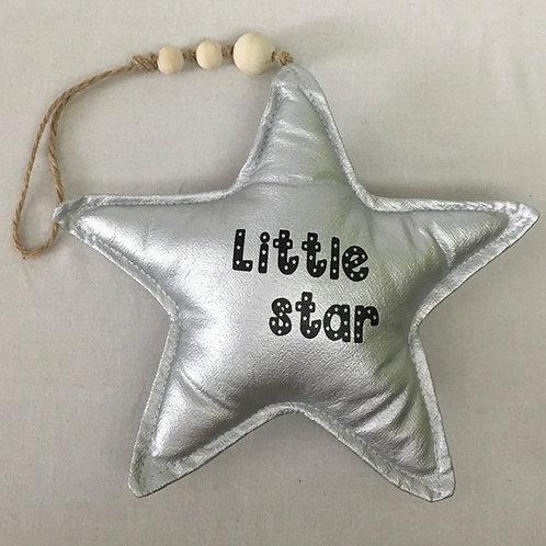 Ster |  Little Star met sterretjes | Zilver | MarGoCadeau