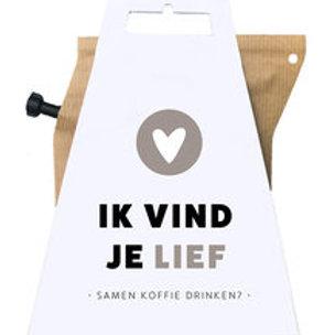Wenskaart met coffee brewer | Livntaste | van d'Oldestempel