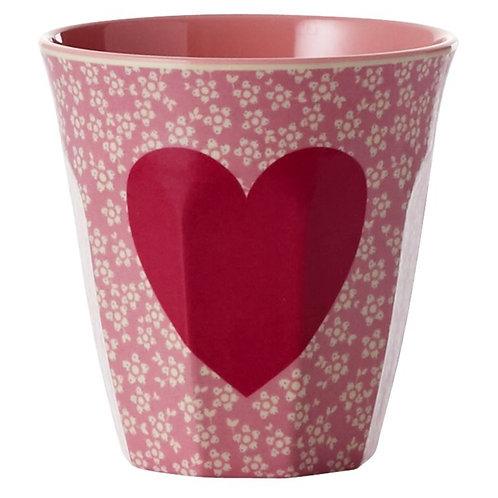 Melamine cup Hart Medium   RICE   Wonderzolder