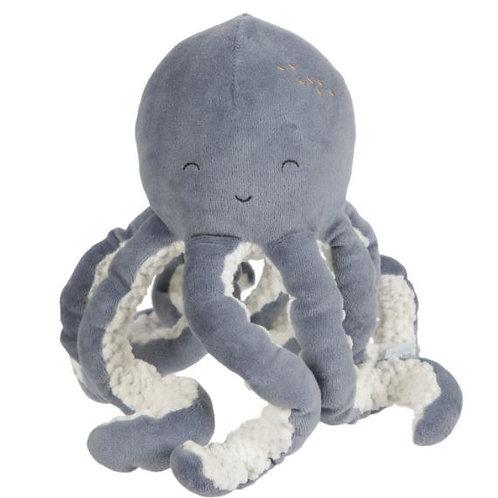 Knuffel | Octopus| Ocean Blue | Little Dutch
