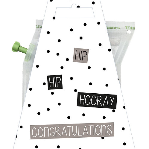 Tea brewer |  Hip hip hooray | Livntaste | van d'Oldestempel