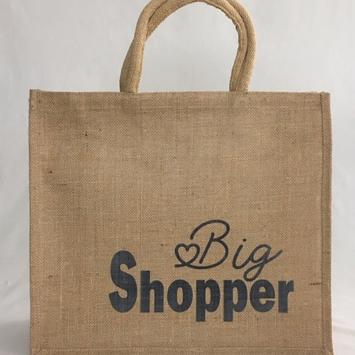 Big shopper   Jute   MarGoCadeau