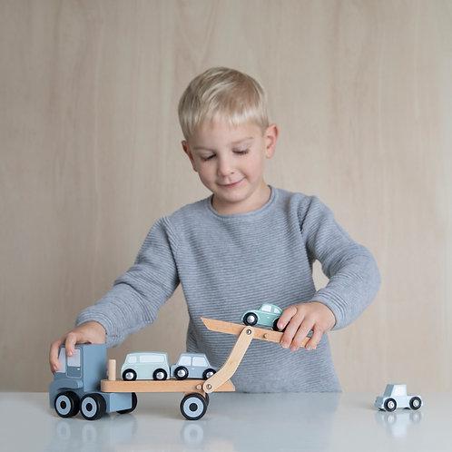 Houten speelgoed   Transportwagen   Little Dutch