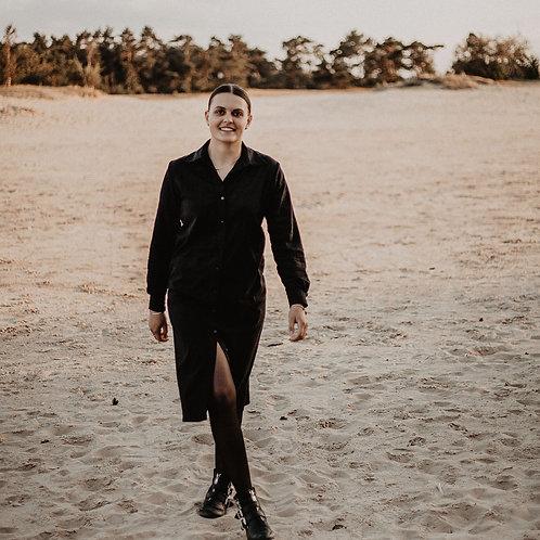 QUINCY jurk |  Zwart | Studio Lynn
