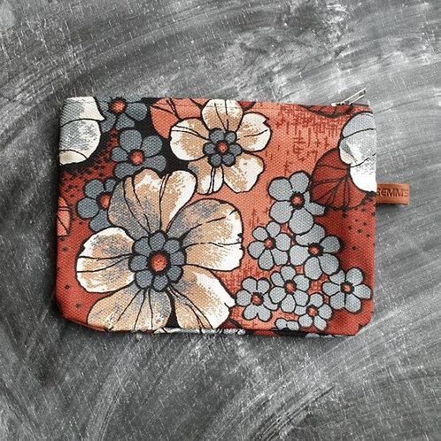 Tas | Etui | Retro |  Bruin |Semms Leather