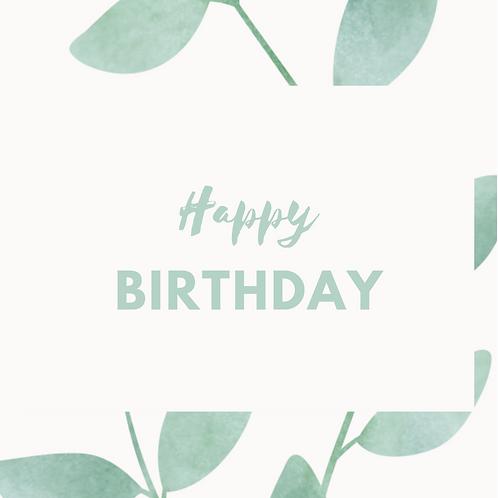 Kaart   Happy birthday    MadePaper