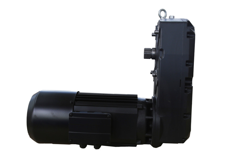 Euro-style variable frequency three-in-one drive for hoisting