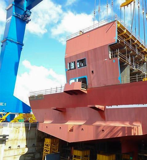 Gantry-Crane-For-Shipbuilding
