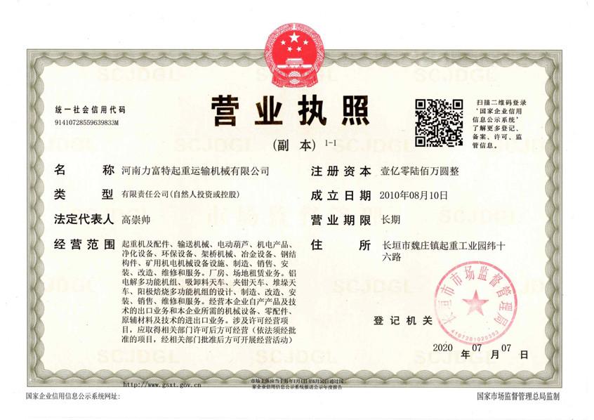 Liftsmart Business License