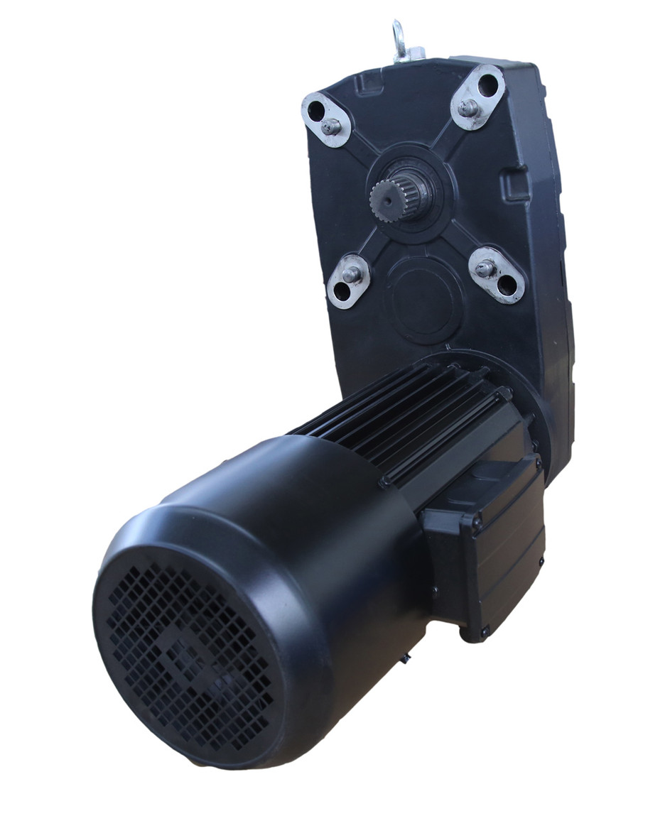 Euro-style two speed three-in-one gear motor