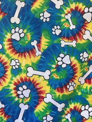 Tie Dye Dog Print