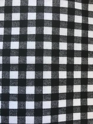 Black & White Plaid