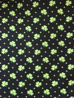 Black & Green Clovers