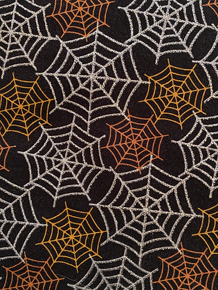 Sparkly Spiderwebs