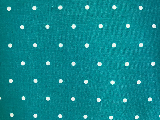 Teal Medium Polka Dots