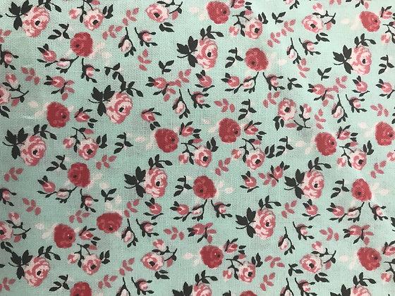 Teal & Pink Floral