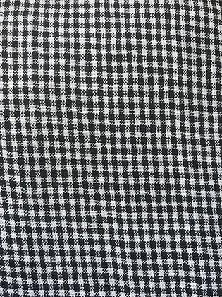 Black & White Small Plaid