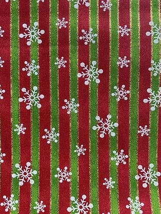 Snowflakes, Stripes & Glitter